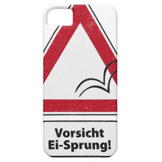 ¡Vorsicht E-I-Saltado! iPhone 5 Funda