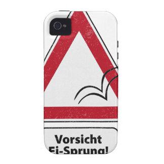 ¡Vorsicht E-I-Saltado! Vibe iPhone 4 Carcasa