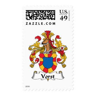Vorst Family Crest Stamps