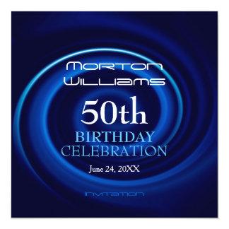Vortex 50th Birthday Celebration Invitation