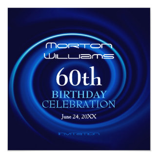 Vortex 60th Birthday Celebration Invitation