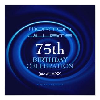 Vortex 75th Birthday Celebration Invitation