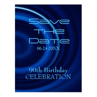 Vortex 90th Birthday Save the Date - Postcard