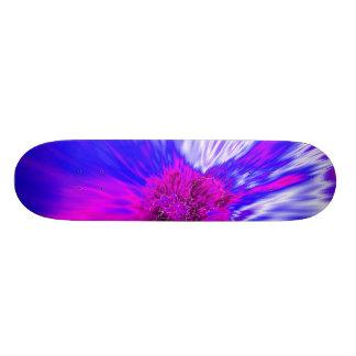 Vortex Abstract Digital Fractal Skateboard Deck