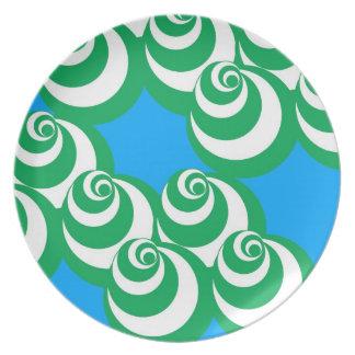 Vortex (Blue/Green) Plate