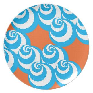 Vortex (Blue/Orange) Plate