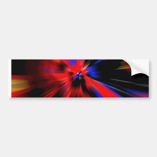 Vortex bumper sticker