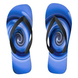 Vortex by Shirley Taylor Flip Flops
