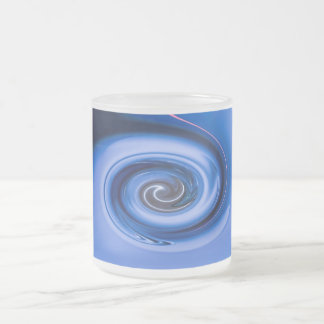 Vortex by Shirley Taylor Frosted Glass Coffee Mug