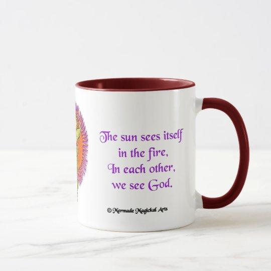 Vortex Caduceus Mug, 15oz Mug