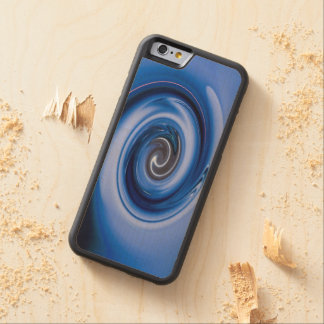 Vortex Carved® Maple iPhone 6 Bumper Case