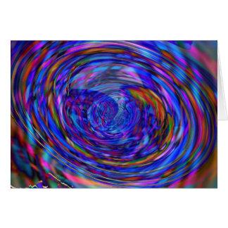 Vortex inside a vortex card