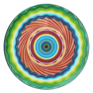 Vortex Mandala Plate