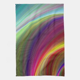 Vortex of Colors Kitchen Towel