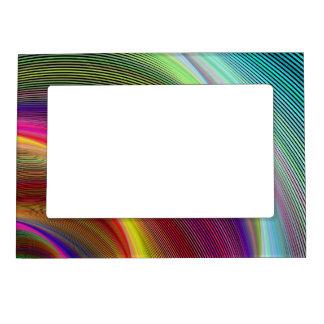 Vortex of colors magnetic frame
