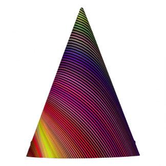 Vortex of Colors Party Hat