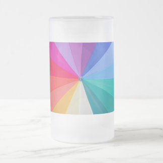 vortex of colours frosted 16 oz  classic mug