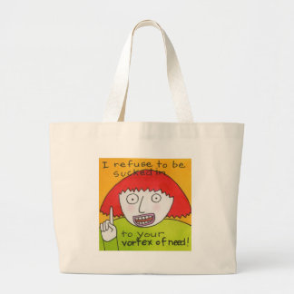 Vortex of Need Tote Bags