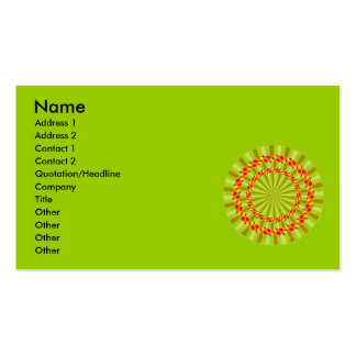 Vortex Optical Illusions-1 Name Address 1 Ad Business Cards