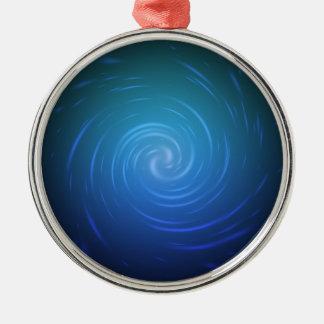 Vortex Particles Premium Round Ornament