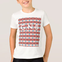 Vortex pattern. Add your own text. Customizable. T-Shirt