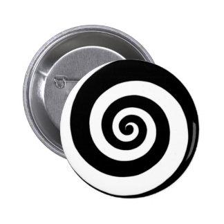 Vortex Pinback Button
