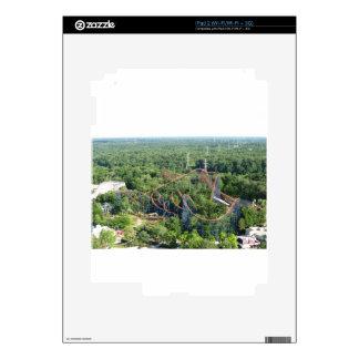 Vortex Roller Coaster Kings Island Decals For iPad 2