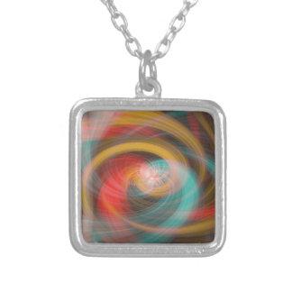 Vortex Silver Plated Necklace