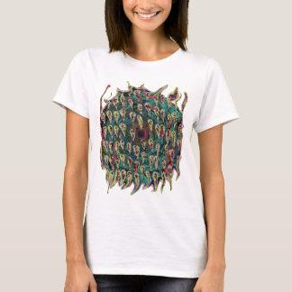Vortex Spiral to Hell Teal version T-Shirt
