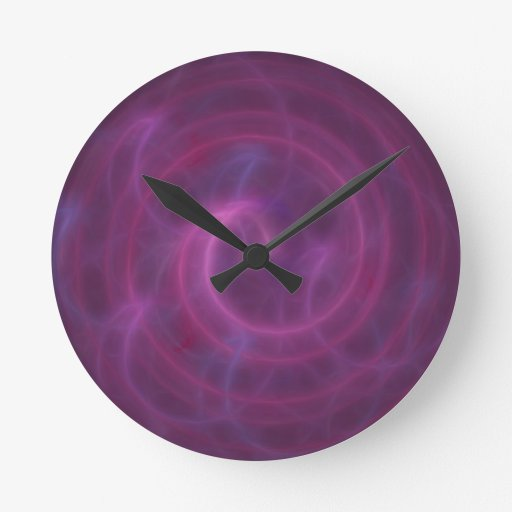 VortexPortal Round Wall Clock
