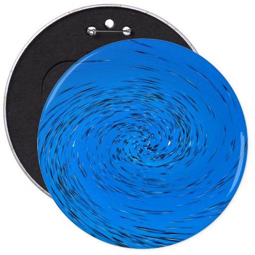 Vórtice azul pin redondo 15 cm