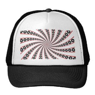 Vórtice de ocho bolas: gorras de camionero