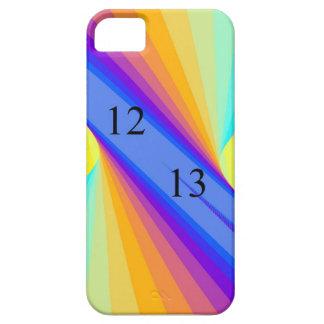 vórtice del arco iris de Barely There del iPhone 5 iPhone 5 Case-Mate Funda