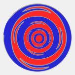 Vórtice design.png pegatina redonda