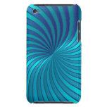 vórtice espiral azul de la caja de iPod iPod Case-Mate Cárcasa