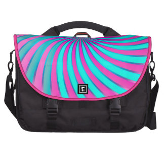 Vórtice espiral del bolso del viajero bolsas para portatil