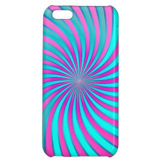 vórtice espiral del caso del iPhone 5C