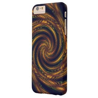vórtice espiral del caso del iPhone 6 del fractal Funda De iPhone 6 Plus Barely There