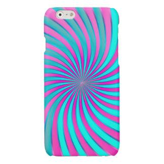 vórtice espiral del caso del iPhone 6