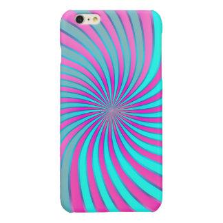 vórtice espiral del caso más del iPhone 6