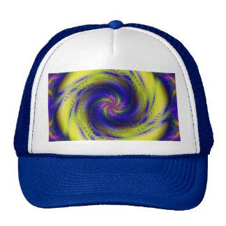 Vórtice espiral del fractal del gorra
