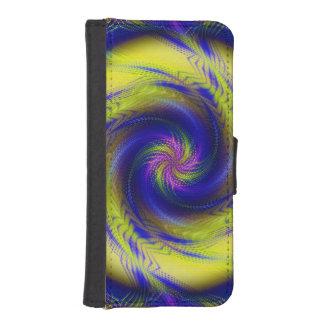 Vórtice espiral del fractal del iPhone 5s de la ca Cartera Para iPhone 5