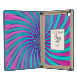 Vórtice espiral del iPad de Dodocase mini