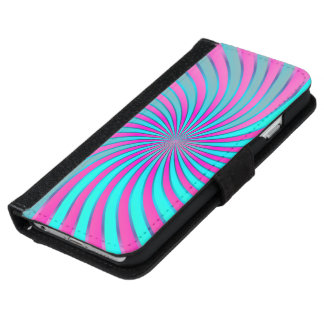 Vórtice espiral del iPhone 6 de la caja de la