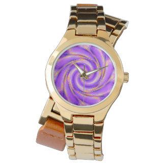Vórtice espiral del reloj