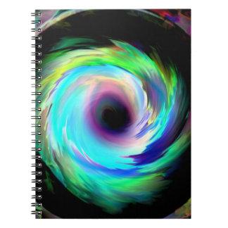 Vórtice Libro De Apuntes Con Espiral