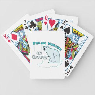 Vórtice polar baraja de cartas