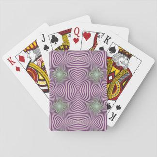 Vórtice púrpura barajas de cartas