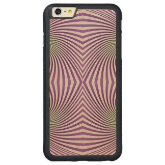 Vórtice púrpura funda de arce bumper carved® para iPhone 6 plus