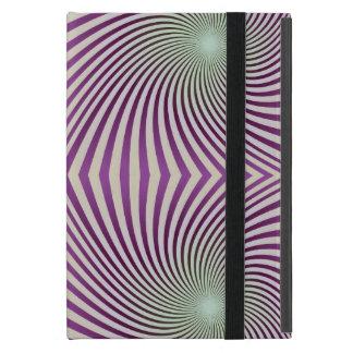 Vórtice púrpura iPad mini cárcasa